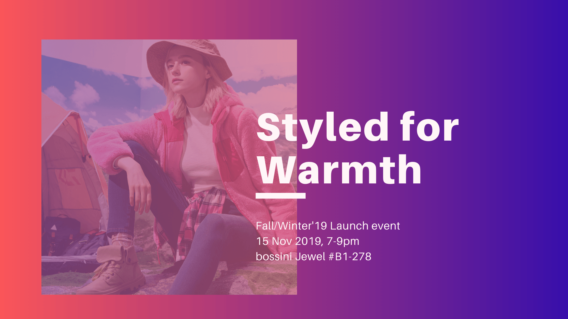 [WEBSITE] Styled for Warmth @ bossini Jewel